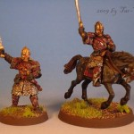 Éomer, Modell von Games Workshop bemalt von Tar-Calion