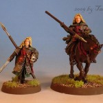 Éowyn, Modell von Games Workshop bemalt von Tar-Calion