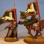 Gamling, Modell von Games Workshop, bemalt von Tar-Calion